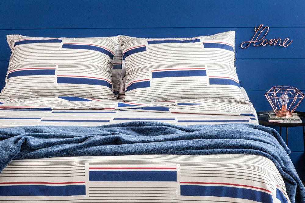 CAMA - Conforto e qualidade inigualável, com materiais selecionados.Coleção completa de jogos de cama, edredons, colchas, cobertores e travesseiros.