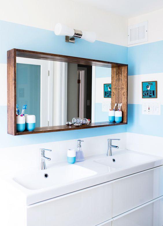 espelhos para decoração de banheiros
