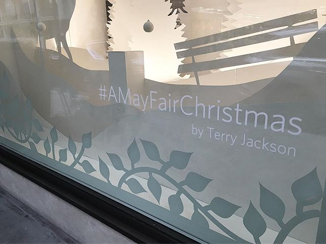 Soon to be revealed #amayfairchristmas #byterryjackson