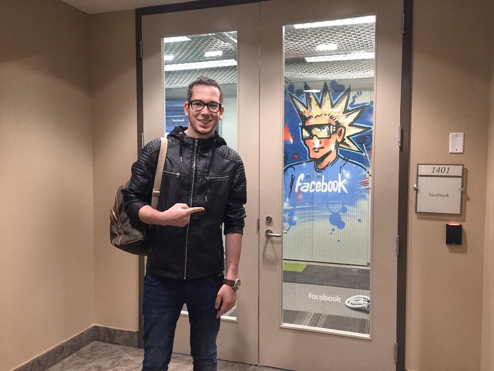 Nino Ruef at Facebook Toronto