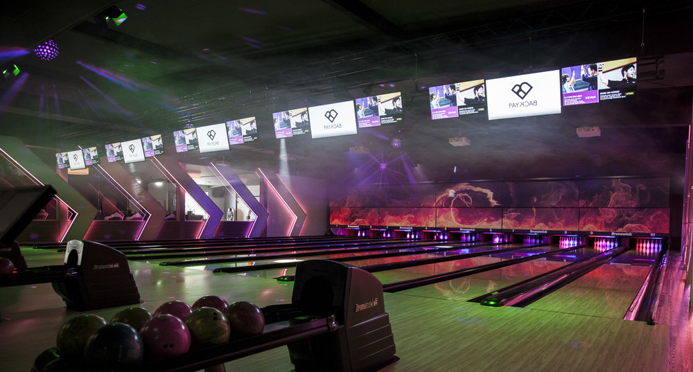 Die von uns betreuten Adscreens im Bowling Five