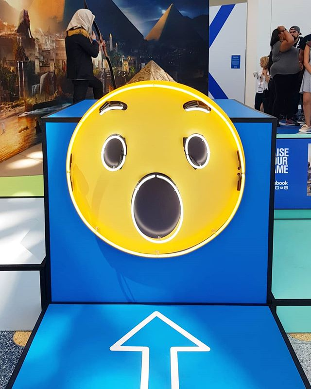 Wow, it's world emoji day! 😲 Thowback to our #emoji photo set @e3expo 2017! 📸