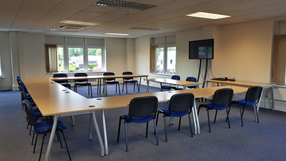 Another training room hire photograph