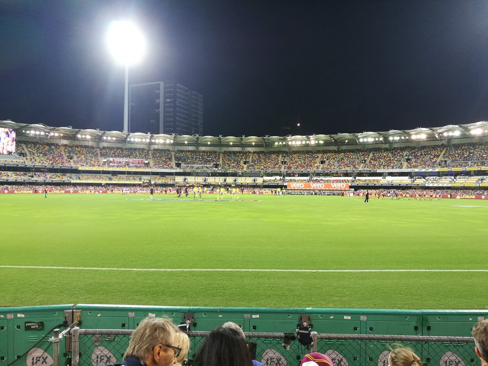 The Gabba- Home of Brisbane Lions
