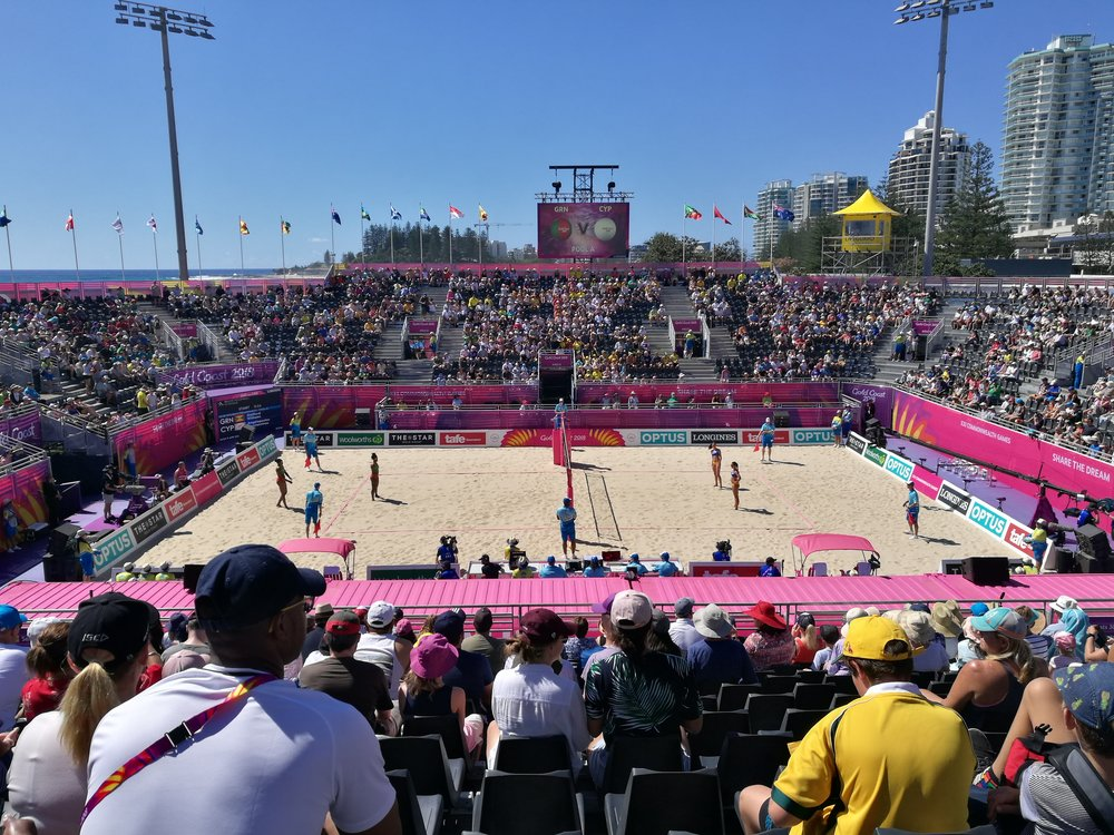 Beach Volleyball- Coolangatta