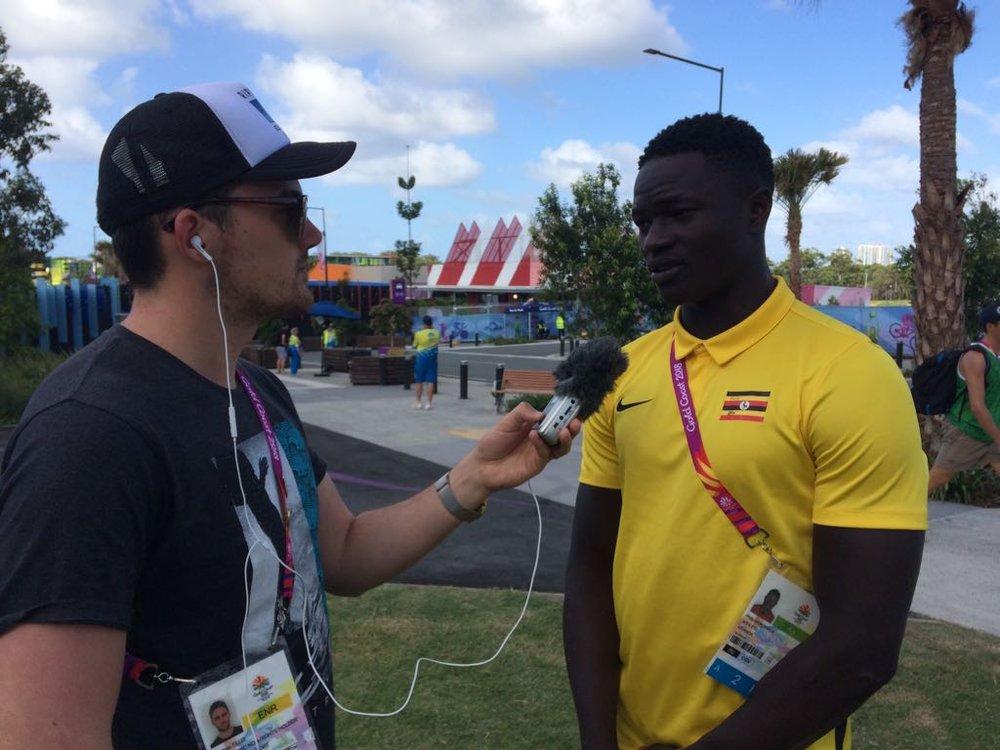 Ugandan Rugby star- Philip Wokorach