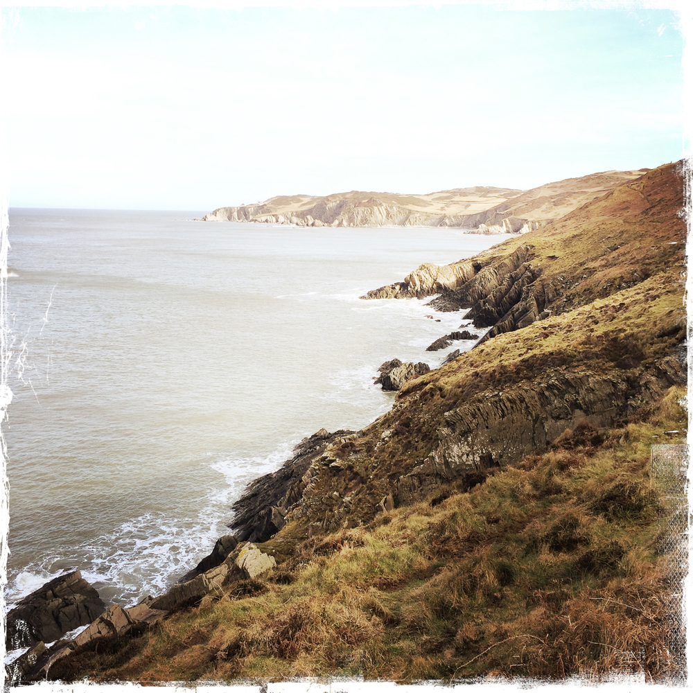 Morthoe coastline