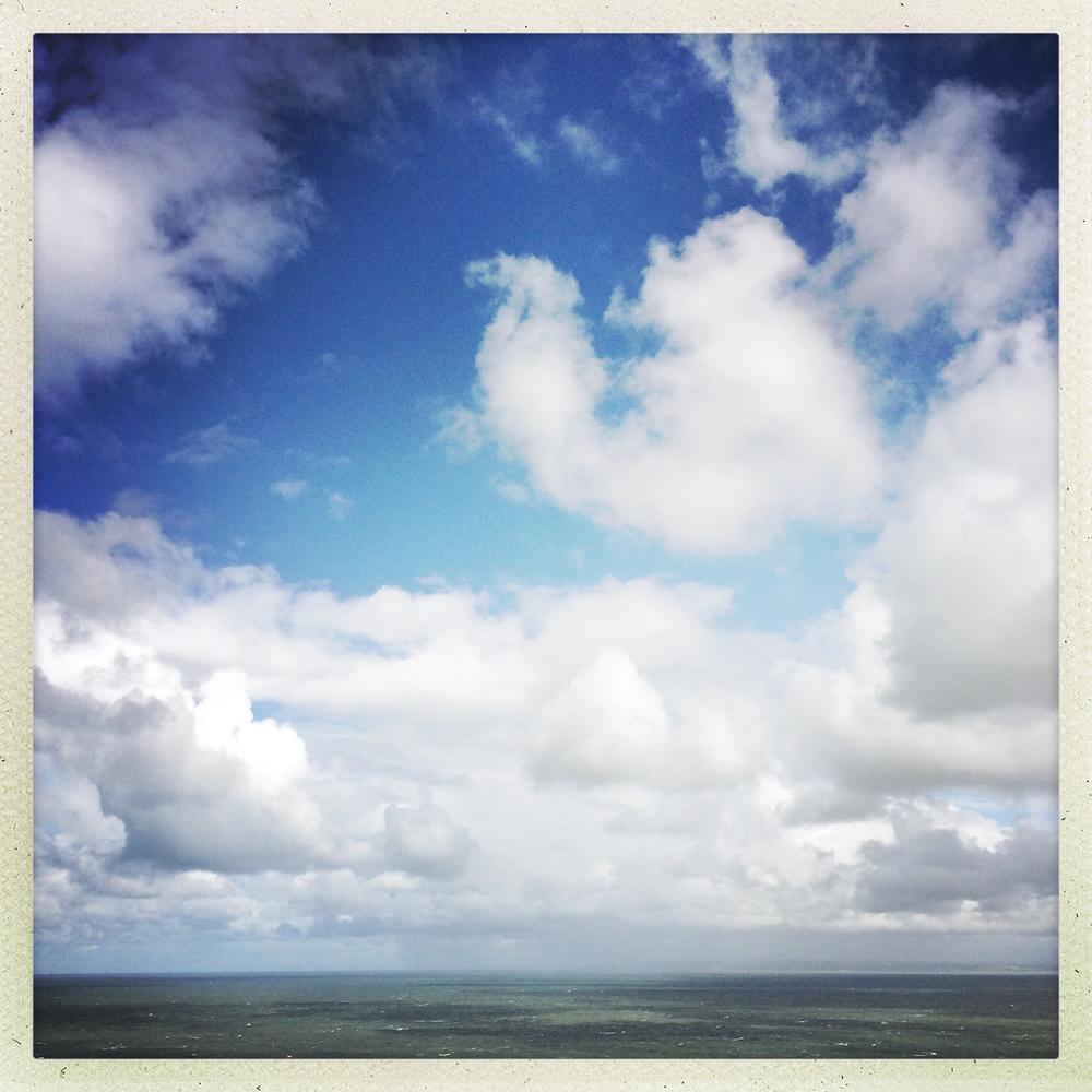Saunton summer skies