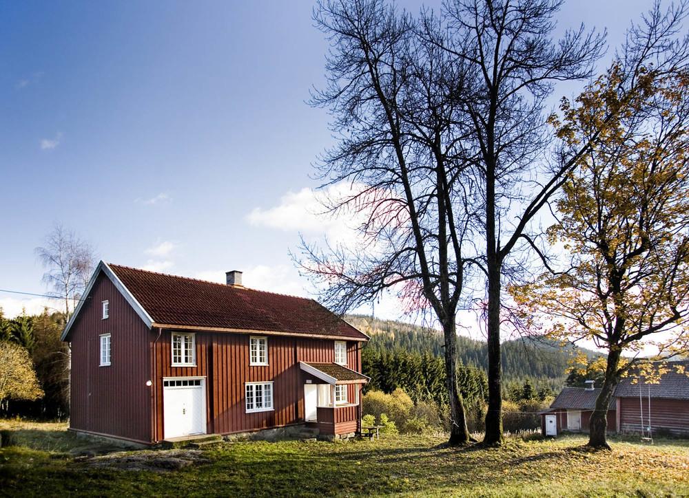 Løvenskiold-Vækerø legger vekt påå ivareta gammel stil og byggeskikk,samt miljøet rundt plassene.
