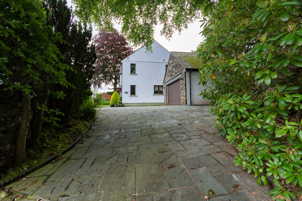 Drive Way and Parking - Beech Nook Thornthwaite, Keswick Holidays Self Catering.jpg
