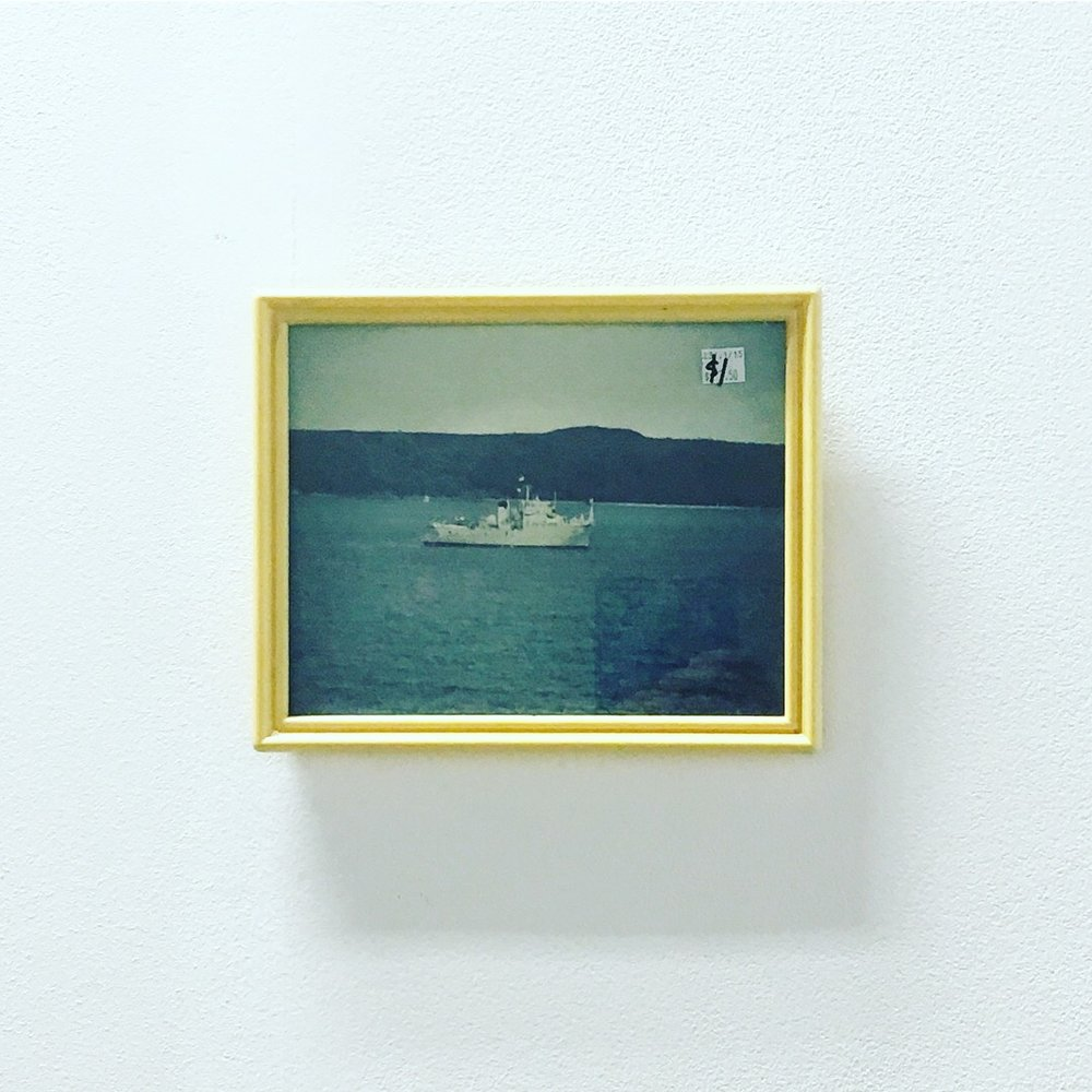 One Dollar , found framed photograph, 20 x 27 cm, 2018
