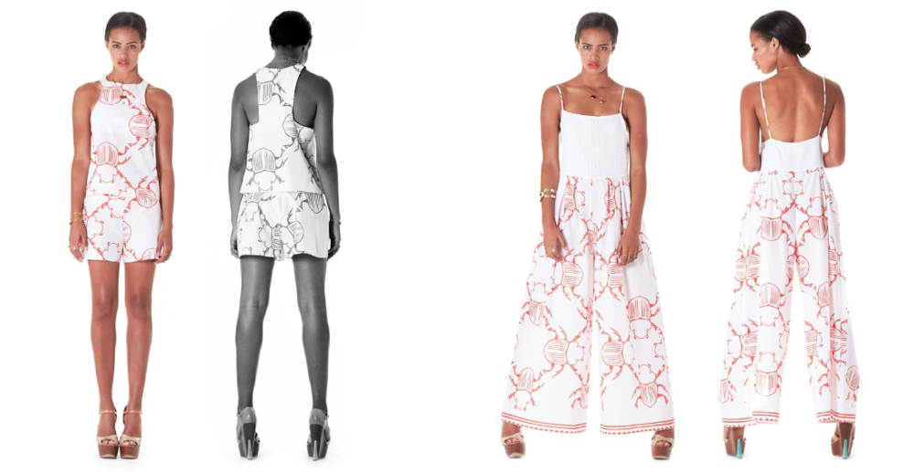 MBILI SHORTS AND TOP    |     SUNGUKU JUMPSUIT
