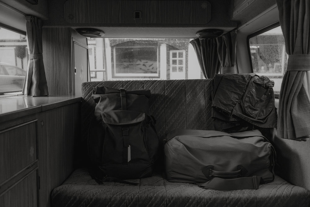 Campervan:  Strathpeffer VW Campervan Hire  Rucksacks:  Millican