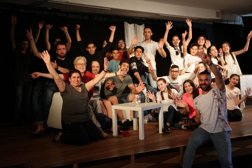 Die Theatergruppe des Bürgervereins Soziales Erlensee tritt am 27. September im Kulturforum Hanau auf.