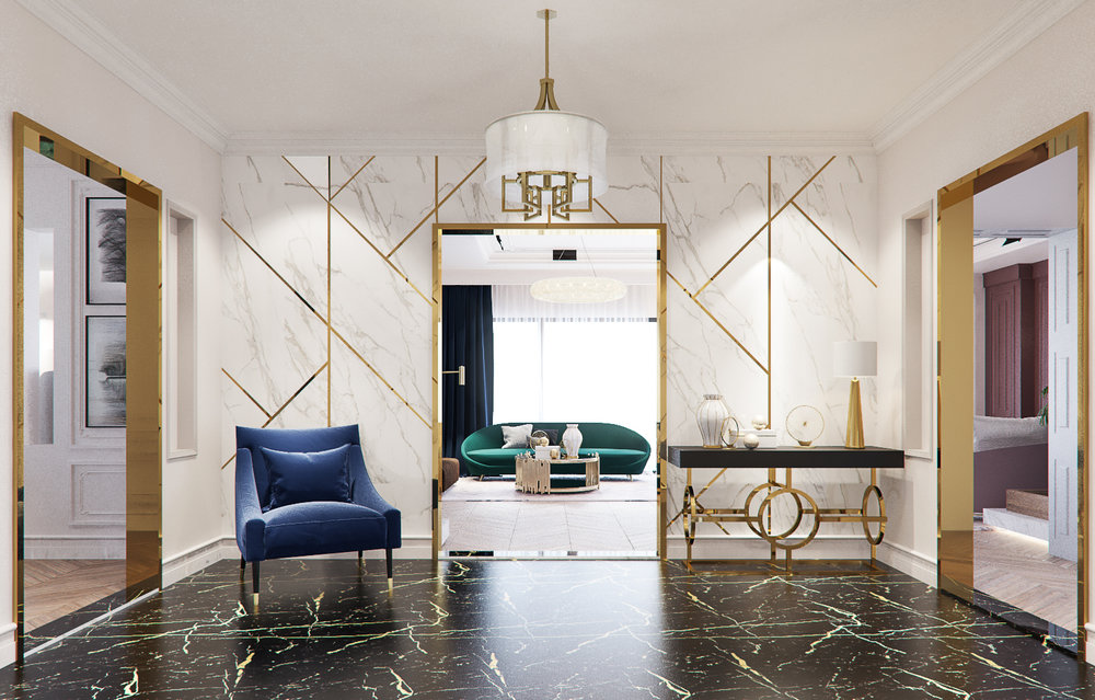 Modern Classic Interior Is Always A Go To Combination. With A Little  Mixture Of Color And Trends, Classic Luxury Is Reinvented.