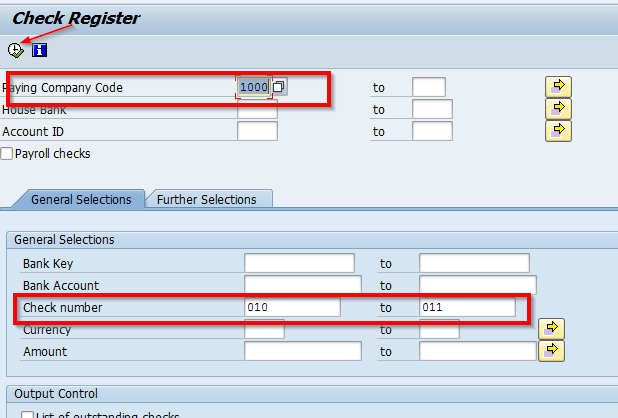 SAP Tips: Reassigning Checks