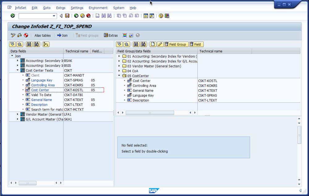 SAP Tip: Create a Vendors Top Spend Report
