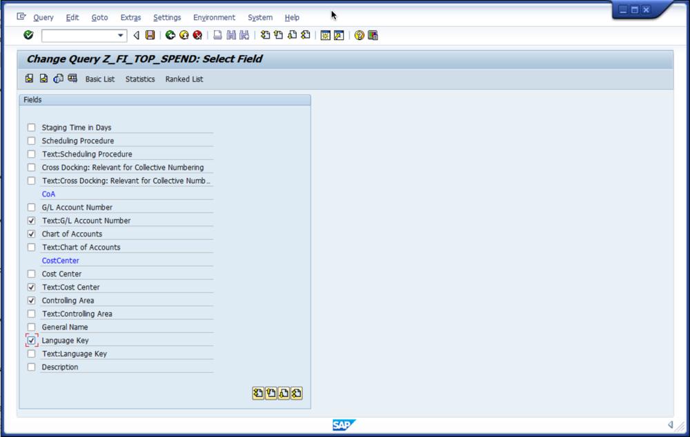 Create Vendor Report in SAP