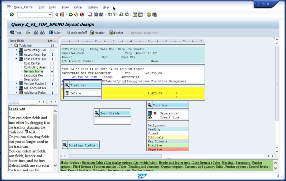 SAP Help Tip: Vendor Report