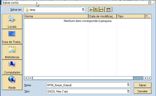 SAP KP06