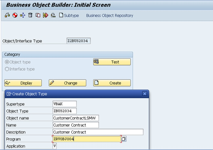 SAP Help: Create a Custom Business Object