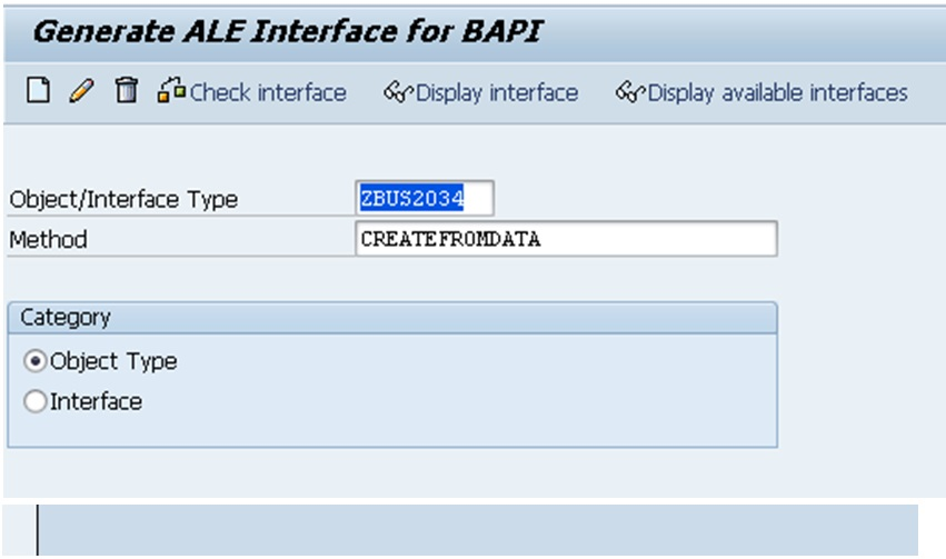 SAP Business Object