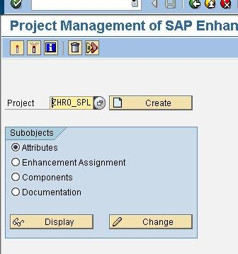 SAP CUSTOMER-EXIT