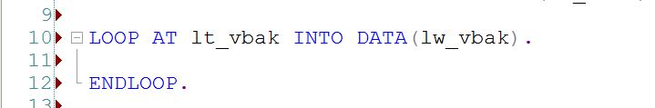 SAP ABAP Advice