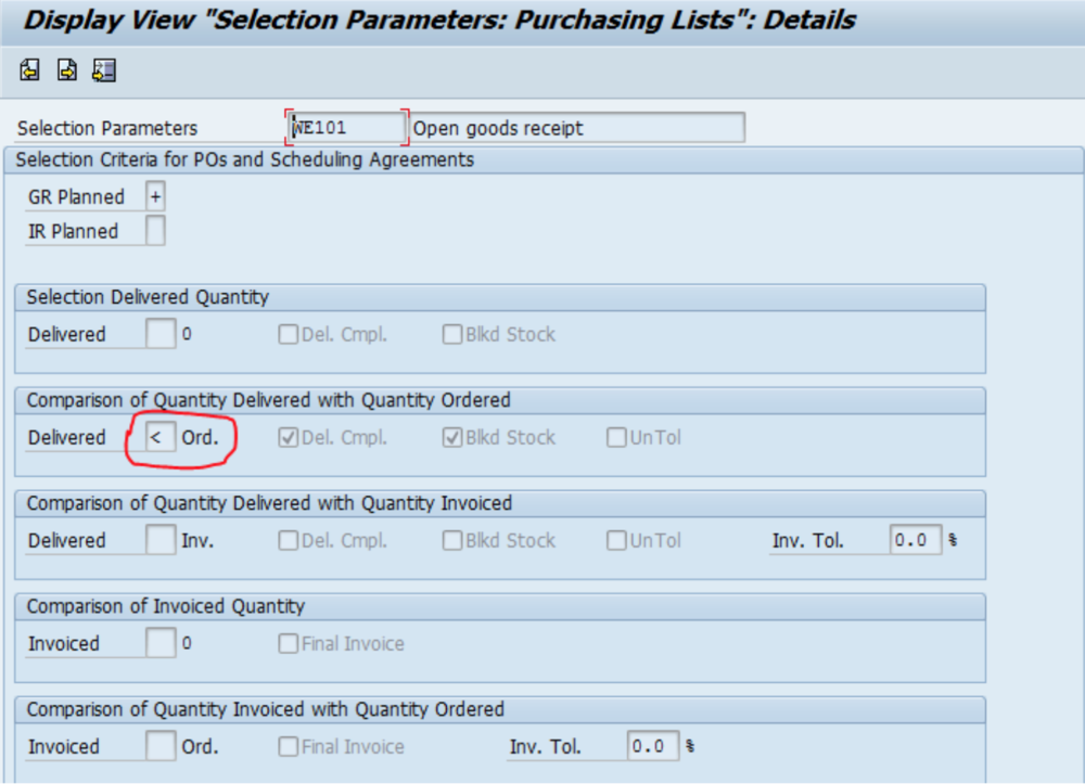 SAP Purchase Order Help