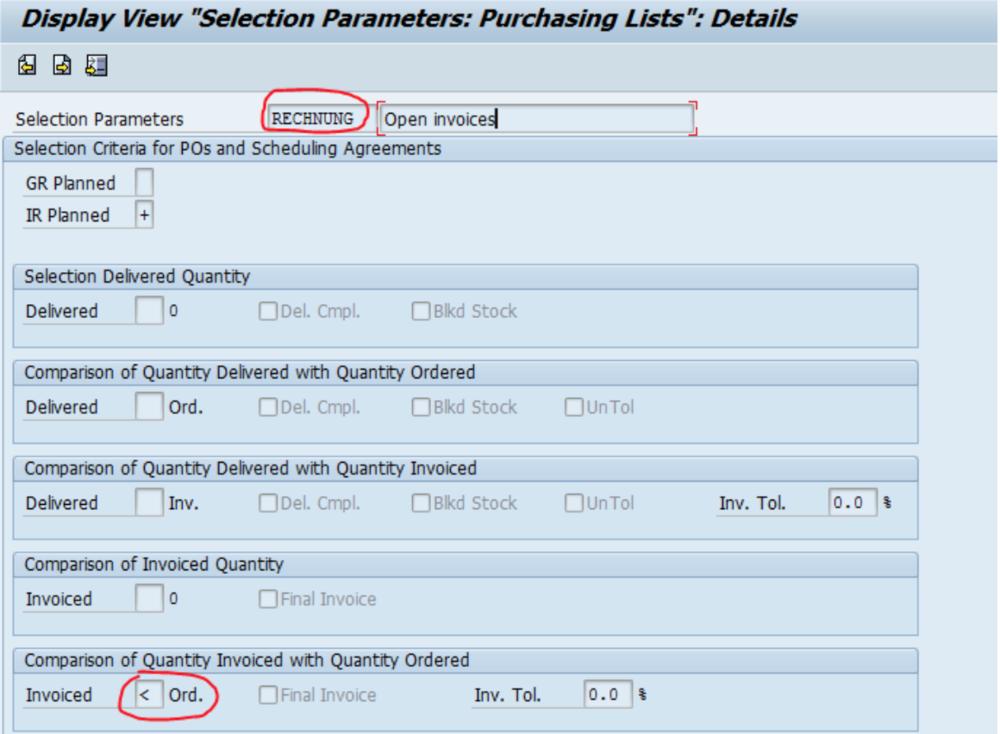 SAP Parameters Tips