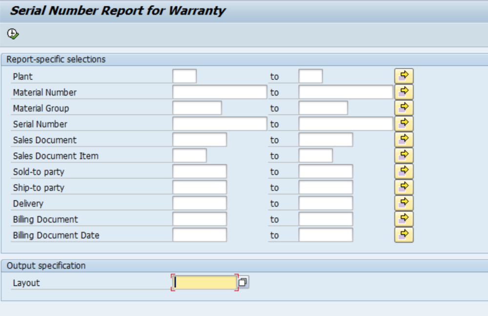 SAP Queries Help