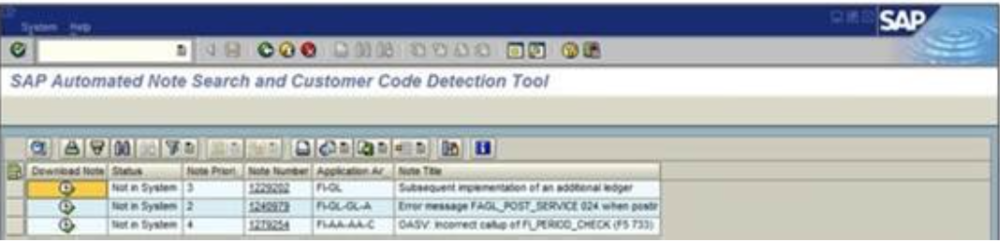 SAP Search Tool Tips