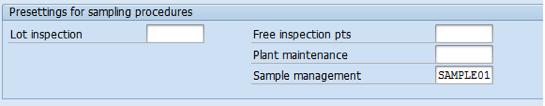 SAP QM Help