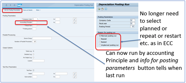 Figure 8 Depreciation Transaction AFAB -Selection Screen