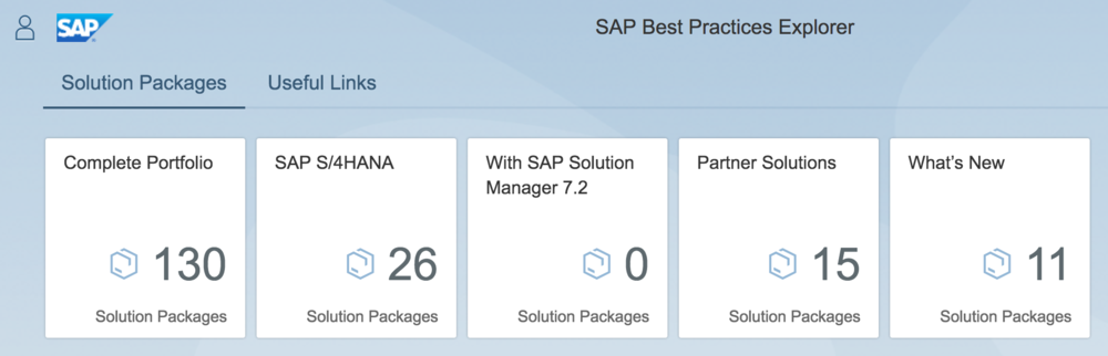 SAP Best Practices Explorer