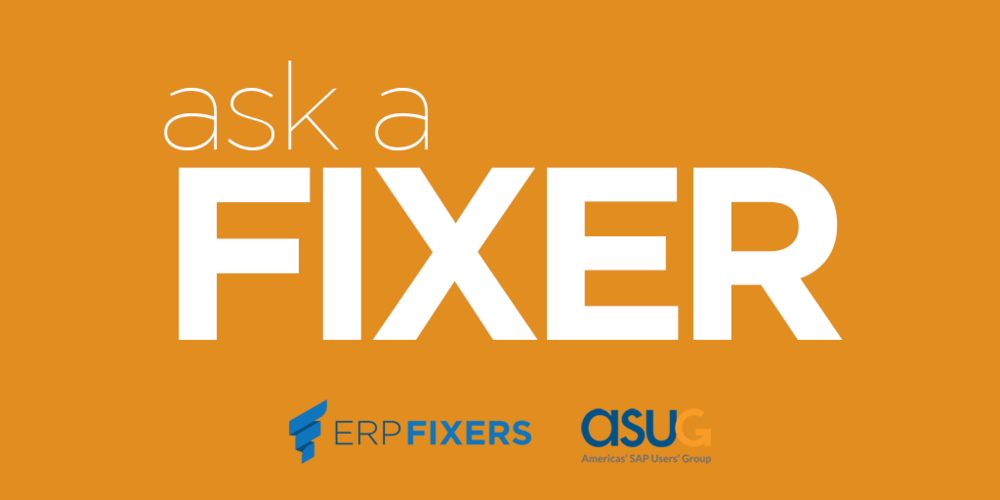 Ask a Fixer