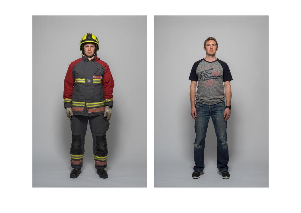 Fireman for 'Duality'