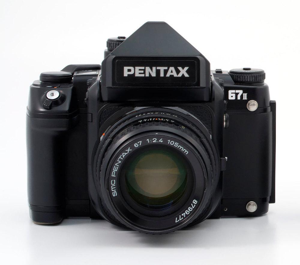 The Pentax 67II