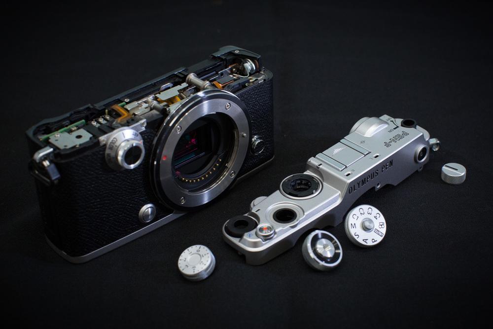 The PEN-F is a complex camera - ©2016 Senzo