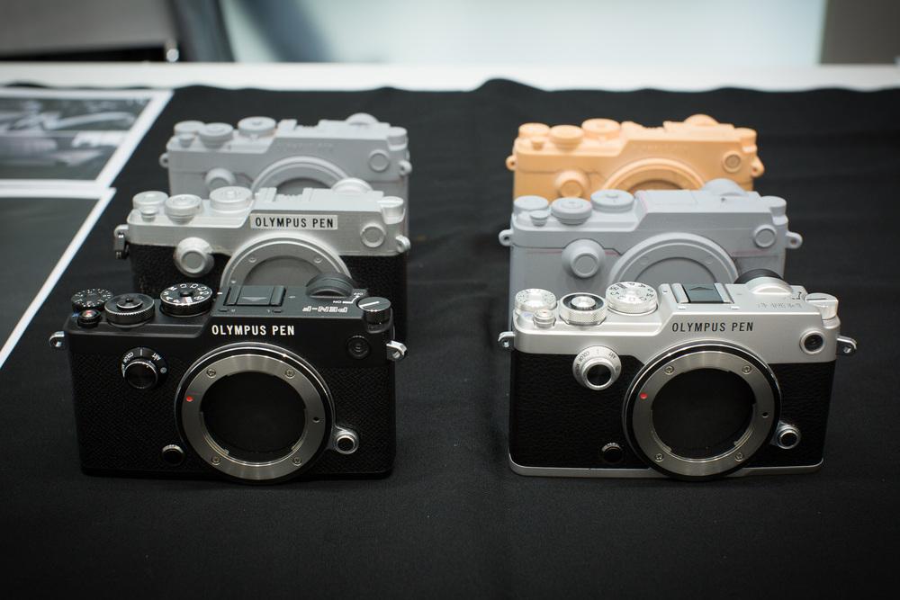 Industrial design mock-ups of the PEN-F - ©2016 Senzo