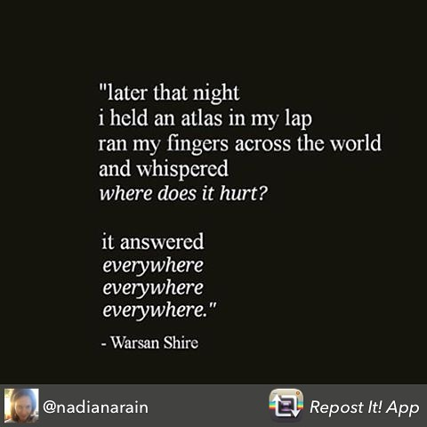 My pleasure to share this beautiful  and poignant post from @nadianarain #peace #france #world #humanity #love
