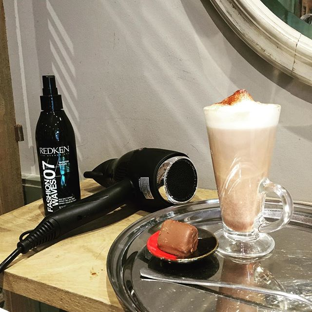 Amazing customer experience as usual at @coiffurehairdressing in Frome #hairdresser #frome #excellence