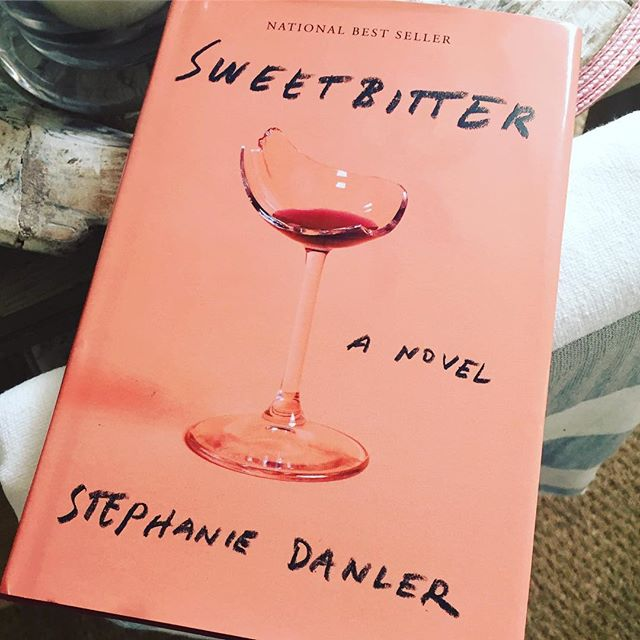 Had this book sent to me from New York. It's so good. #cantstop #sweetbitter #literature #books #nyc