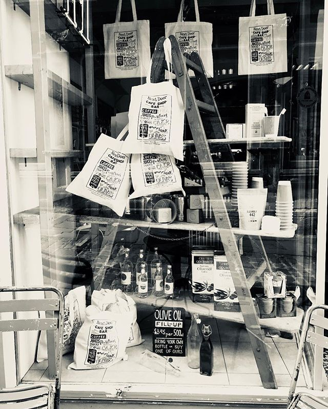 Window day at Next Door. My eco window is coming out and something new will be flying in... #retail #windowdressing #display #branding #independentretailer #shopgirl #shops #organic #frome
