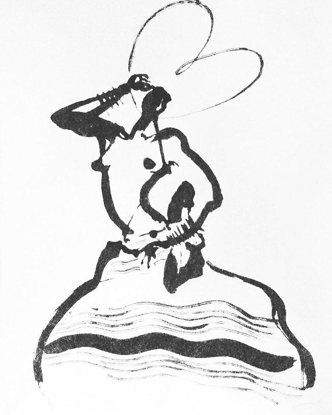 Danse d'été   ArtGraphico  $1850 Contact Ousmane