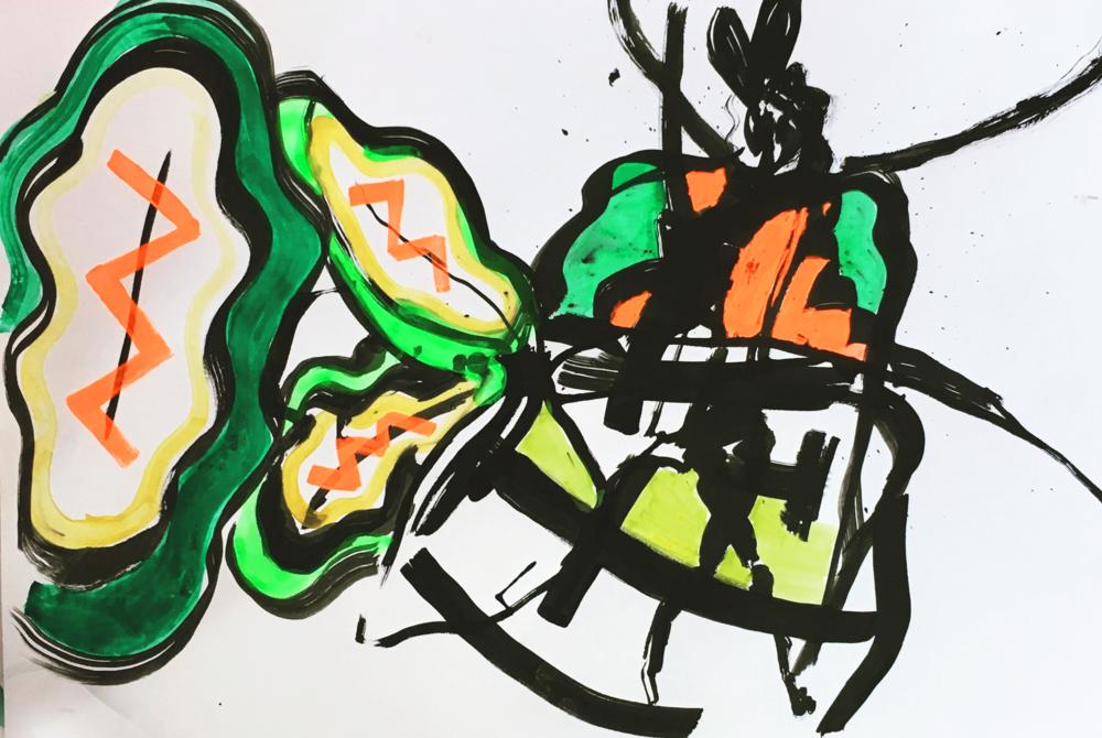 La femme au boubou   ArtGraphico  $1850 Contact Ousmane