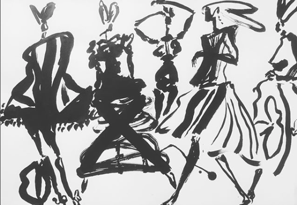 Ronde nocturne   ArtGraphico  $1850 Contact Ousmane