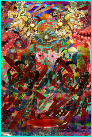 La ronde    ArtGraphico  $1850 Contact Ousmane
