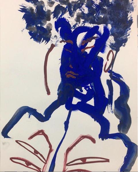 Autoportrait soldat de l'hiver   ArtGraphico  $350 Contact Ousmane