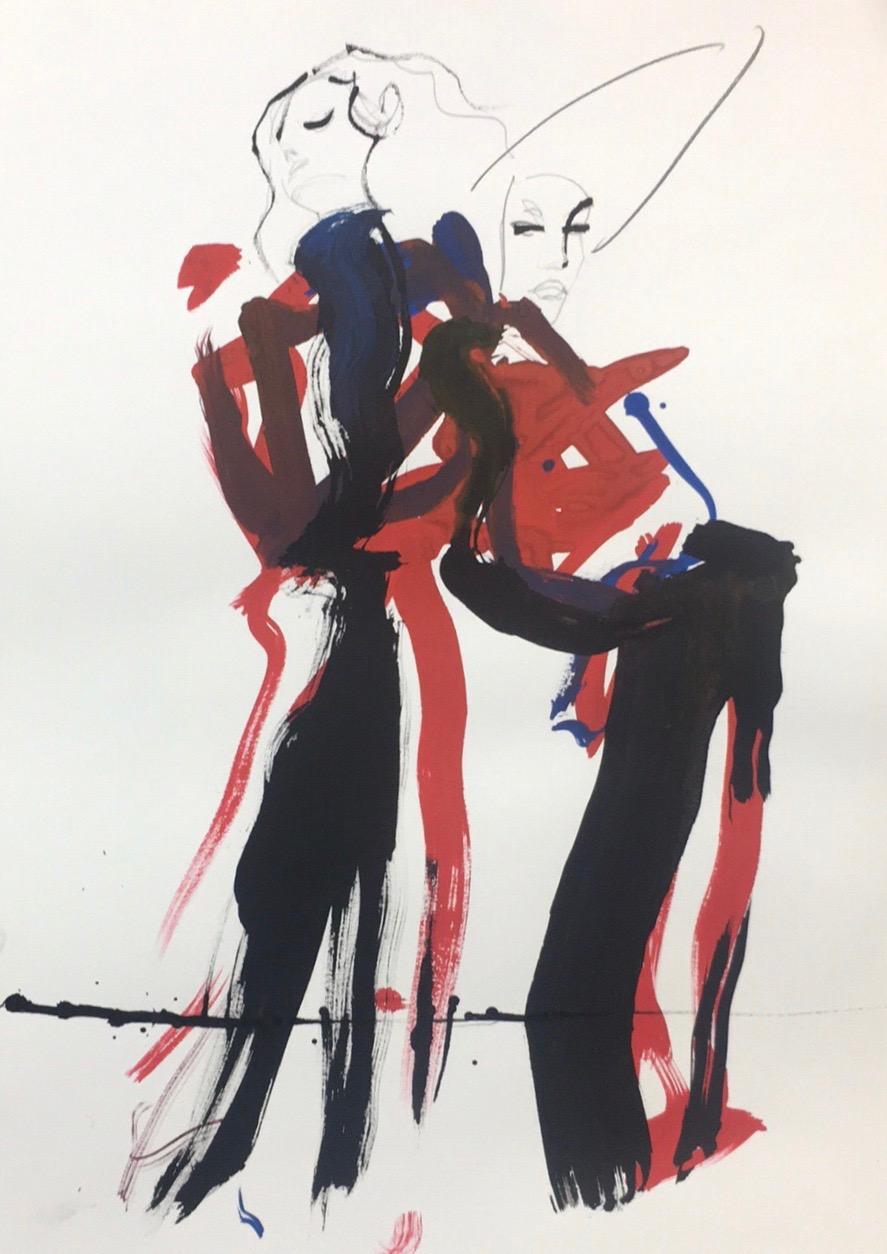Soeurs jumelles   ArtGraphico  sold out  Contact Ousmane